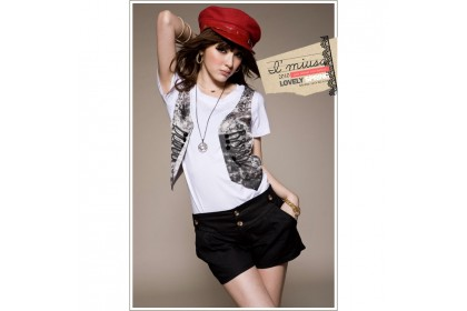 CLEARANCE   Fashionhomez 80516 Casual Shirt with Fake Vest