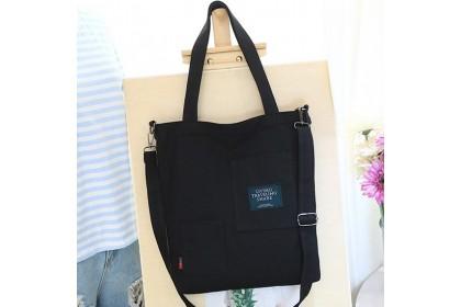 Fashionhomez 5461 Canvas Pocket Multipurpose Shoulder Bag