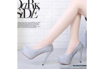 Fashionhomez 8038 Claudia Wedding Heel - Plus Size ( size 35 - 42 )