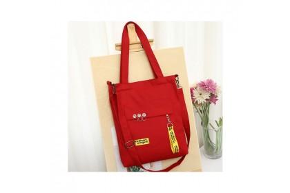 Fashionhomez 5462 Canvas Pocket Multipurpose Shoulder Bag