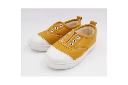 Fashionhomez 2001-A Baby Canvas Shoes (Khaki) - size 26 , 28 , 29