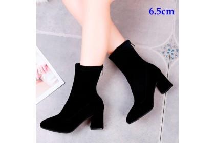 Fashionhomez 8044-A Martin Boots (6.5cm & 8.5cm) - size 35-39
