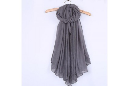 Fashionhomez 300 Plain and Long Cotton Shawl Scarf