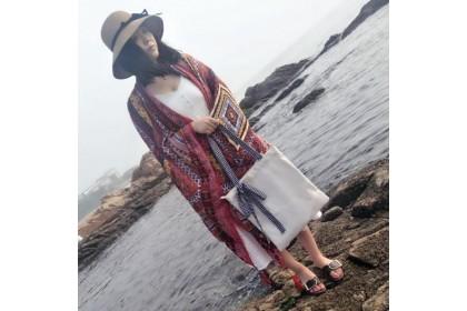 Fashionhomez BW5449 Classic Plaid Bow Tote Bag