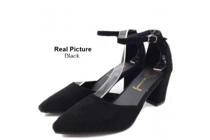 Fashionhomez 8036-A Sandalia Ankle Heel ( size 35-39 )