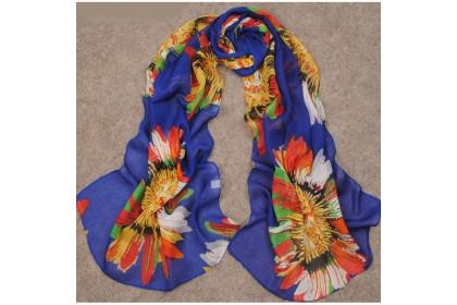 Fashionhomez  160 Chiffon Silk Scarf Rustic Feel