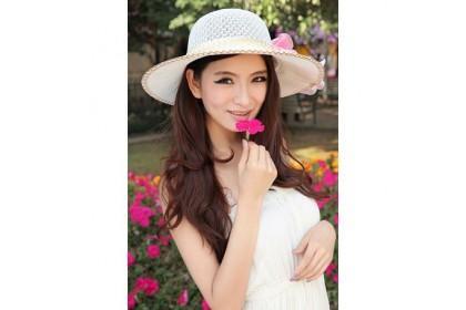 Fashionhomez  203 Flower Dome Beach Hat