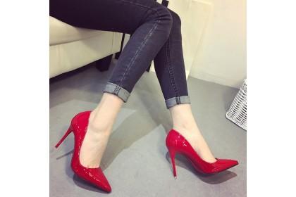 Fashionhomez 8037-D Fellora Heel ( 10cm ) - size 35-41 - Plus Size
