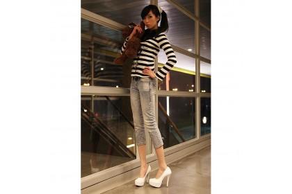 Fashionhomez 2743-A Princess High Heels - Plus Size ( size 35-42 )