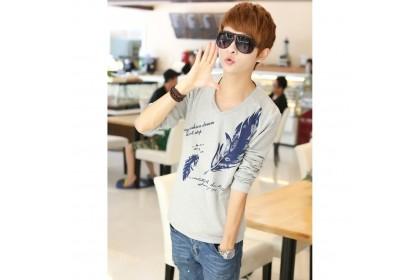 CLEARANCE ITEM  Fashionhomez 4409 Men's T-shirt ( size L & XL )
