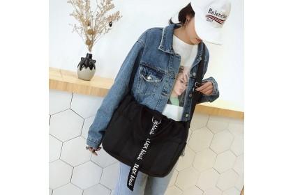 Fashionhomez 5441 Canvas Sling Tote Bag