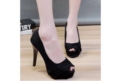 Fashionhomez 8039 Lolita Toes Heel ( size 35-40 )