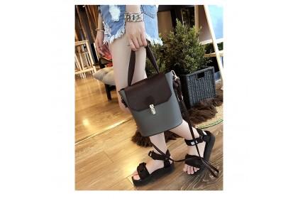 Fashionhomez 5423 Retro Shoulder Bucket Bag
