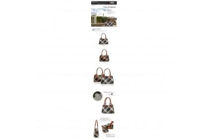 Fashionhomez BW5069 New Wave PU Female Bag