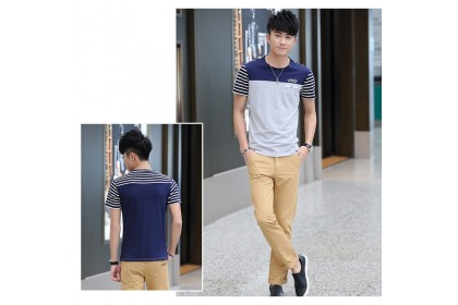 CLEARANCE STOCK  Fashionhomez 5230 Summer Men Cotton T-shirt
