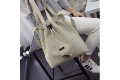 Fashionhomez BW5329 Simple Canvas Tote Bag