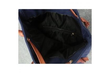 Fashionhomez BW5240 Letters Canvas Bag