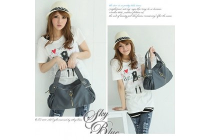 Fashionhomez BW1410 Nylon Zipper Backpack