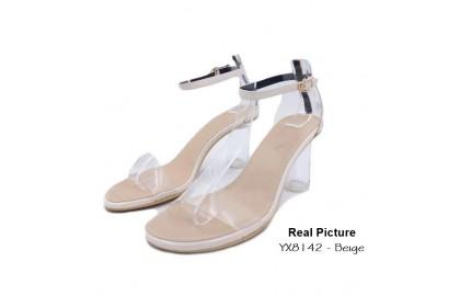 Fashionhomez 8142 Kellie Strappy Heel ( size 35 - 39 )