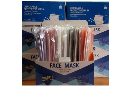 Malaysia Stock50pcs 3 Ply  Disposable Face Mask - Adult