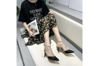 Fashionhomez 8211 Double Rivet Shoes ( size 35-40 )