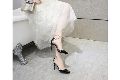 Fashionhomez 8212 Sling Rivet Shoes ( size 35-40 )