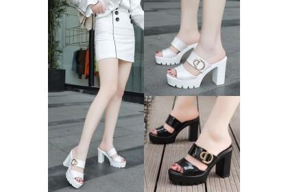 Fashionhomez 8224 Leanon Slip On Heel ( size 35-40 )