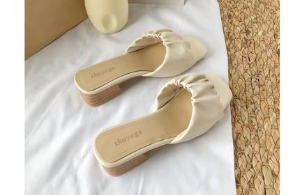 Fashionhomez 8219-A Zuma Mid Heel ( size 35-39 ) - Big Cutting