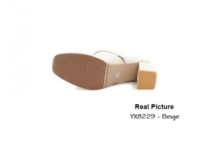 Fashionhomez 8229 Charles Pearl Mules Shoes ( size 35-40 )