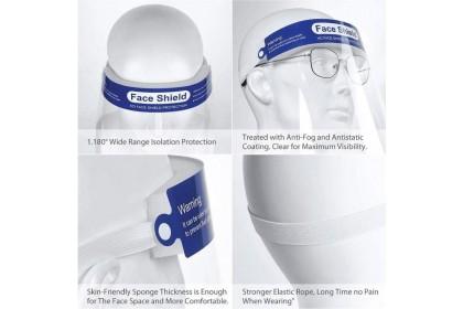 Fashionhomez Face Shield Anti Virus Anti-saliva Extra Protection