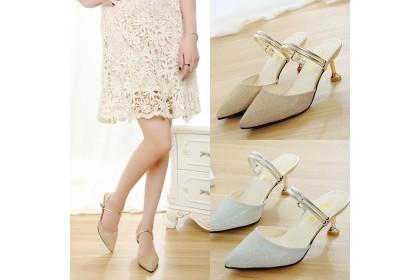 Fashionhomez 8234 Alita Sparkle Heel ( size 35-39 )