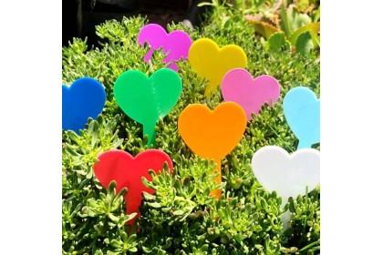 Fashionhomez Garden Labels Seedings Tags (50pcs-Random Color)