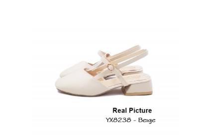 Fashionhomez 8238 Hilda Mid Heel ( size 35-40 )